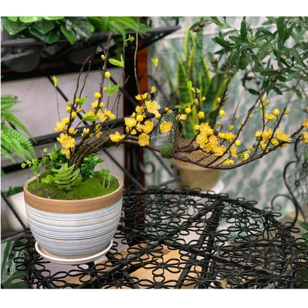 Bình hoa đào bonsai - BH784-3