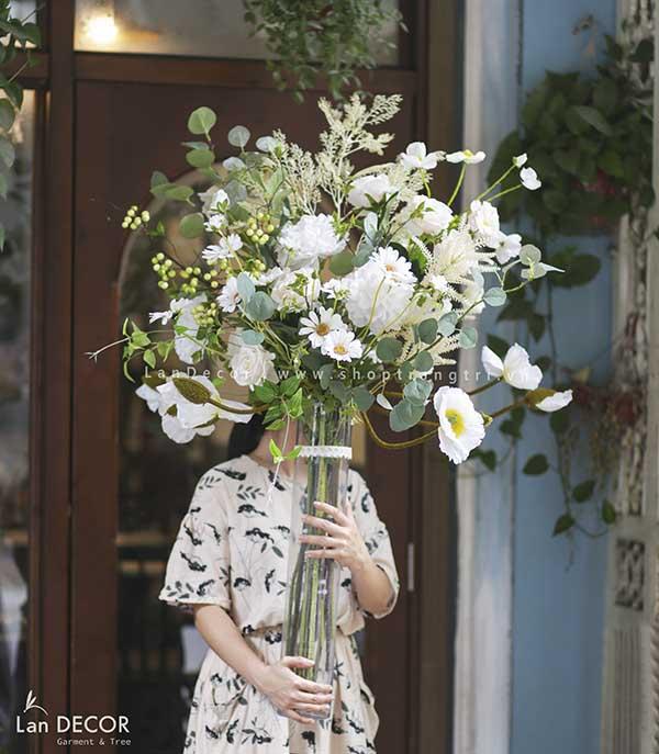 Bình hoa thủy tinh trang trí - BH1146