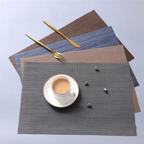 TL100 - Khăn bàn ăn PVC vân chéo (35*40)