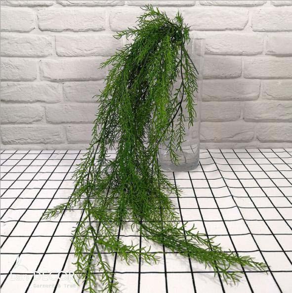 Bụi dương xỉ măng rủ trang trí LanDecor (80cm) - HC1045