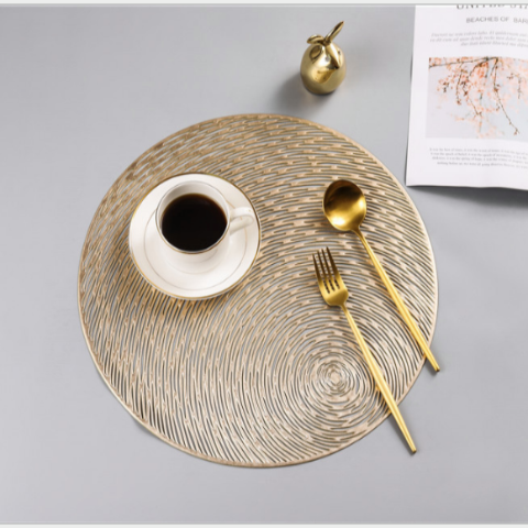 TL102 - Tấm trải bàn ăn xoáy tròn (40 cm)