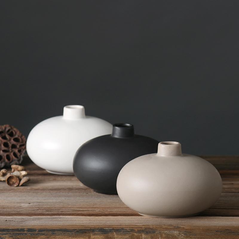 Bình gốm cắm hoa (3 màu) - BG231