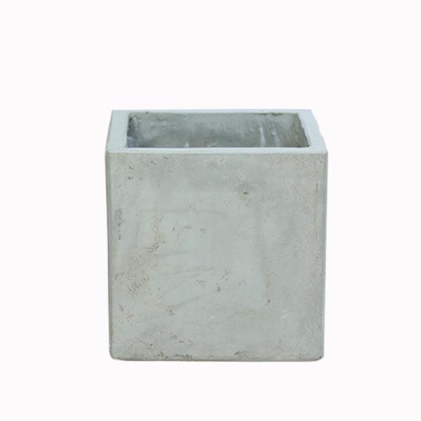 CXM001 - Chậu xi măng vuông (14*14*16)