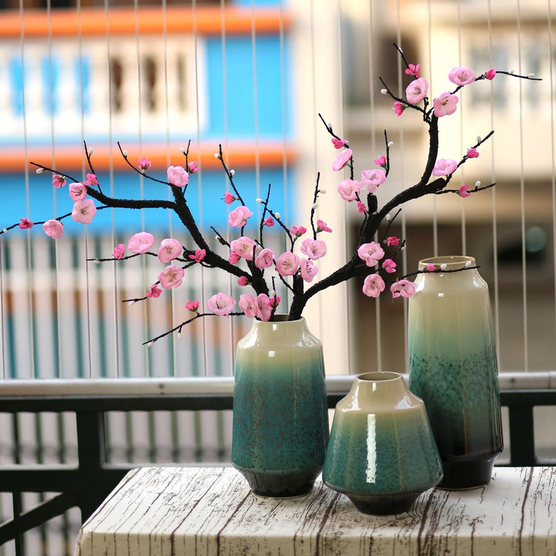 Bình hoa đào trang trí - BH1054