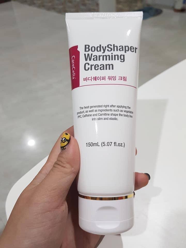 Kem tan mỡ CareCella Body Shaper / CareCella BodyShaper Warming Cream (GIÁ BÁN LẺ : 870,000)