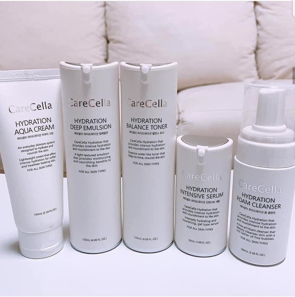 Bộ sản phẩm chăm sóc da cơ bản CareCella Hydration / CareCella Hydration Basic Set( GIÁ BÁN LẺ  3,255,000)