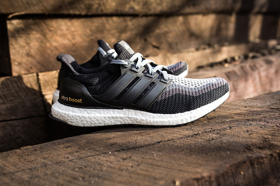 adidas ultra boost 2.0 black grey gradient