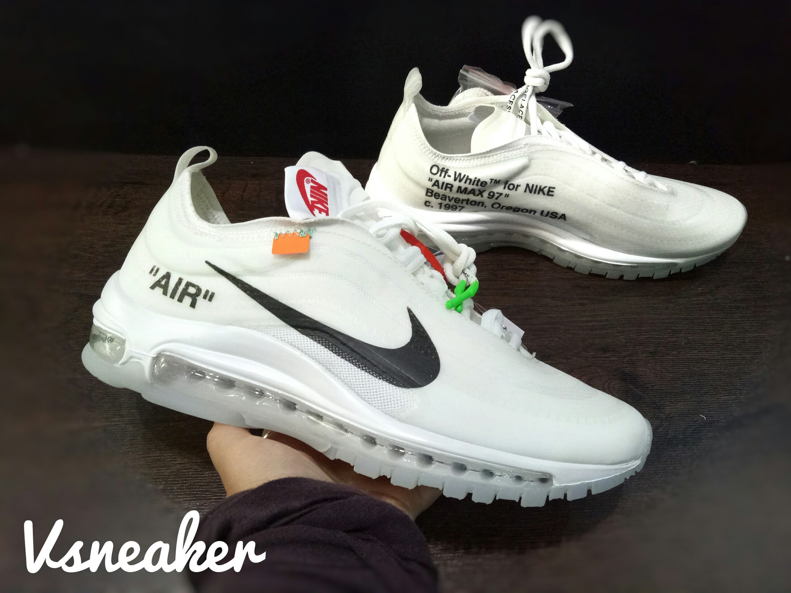 Giày Air Max 97 x Off White