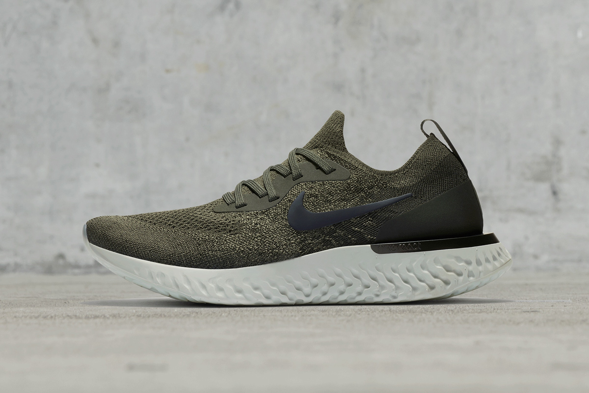 epic react flyknit green matcha