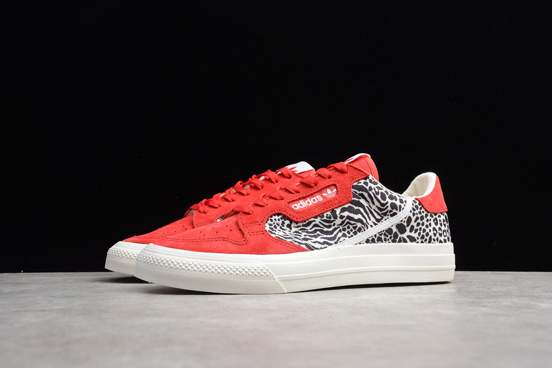 "GIÀY CONTINENTAL VULC ""RED LEOPARD"""