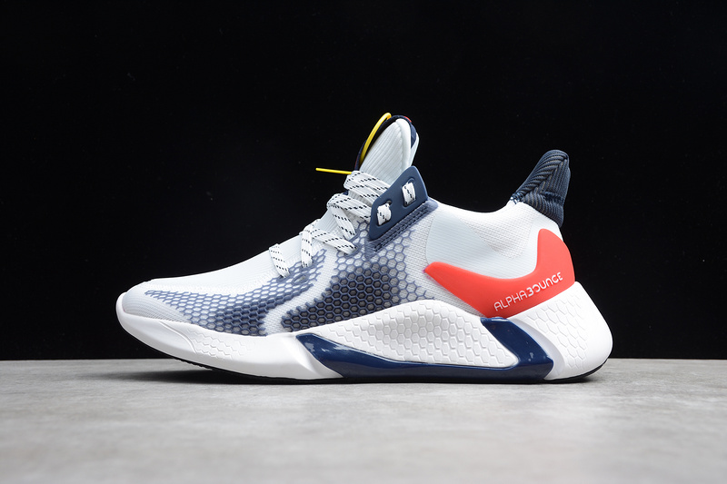 "giày AlphaBounce Instinct 2019 ""Cloud White"""