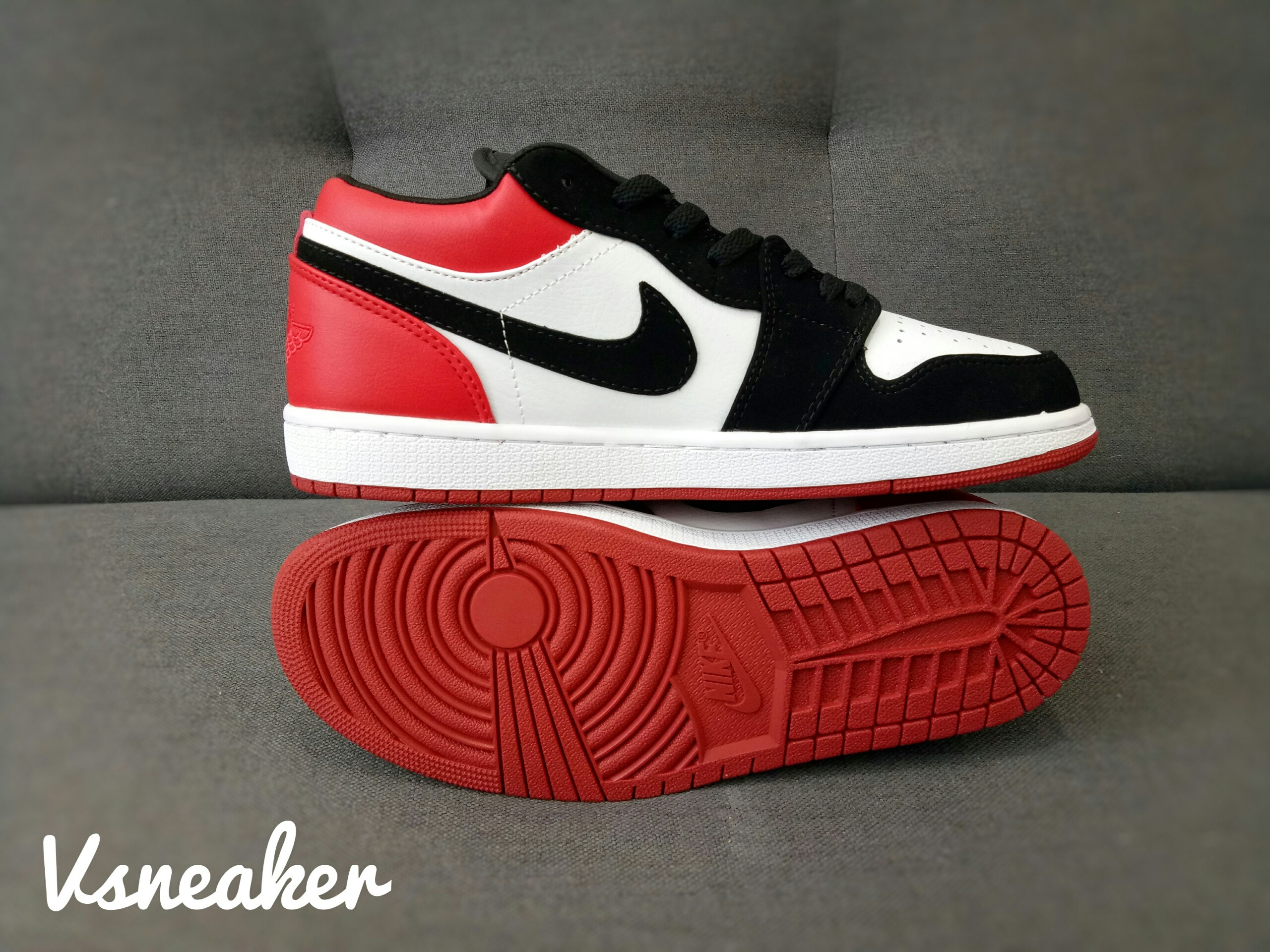 "giày Jordan 1 Low ""Black Toe"""