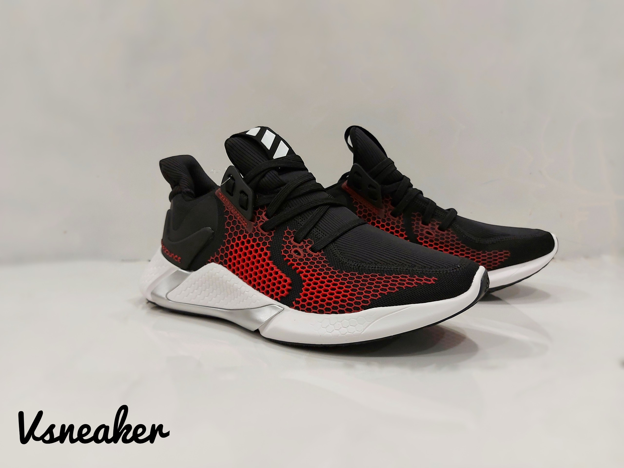 "giày AlphaBounce 2020 ""Black Red"""