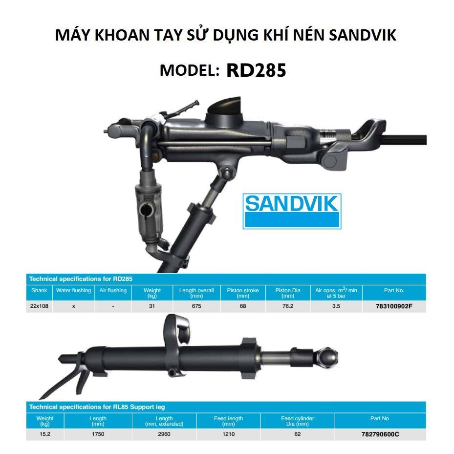 Máy khoan tay RD285 Sanvik, 322D Furukawa