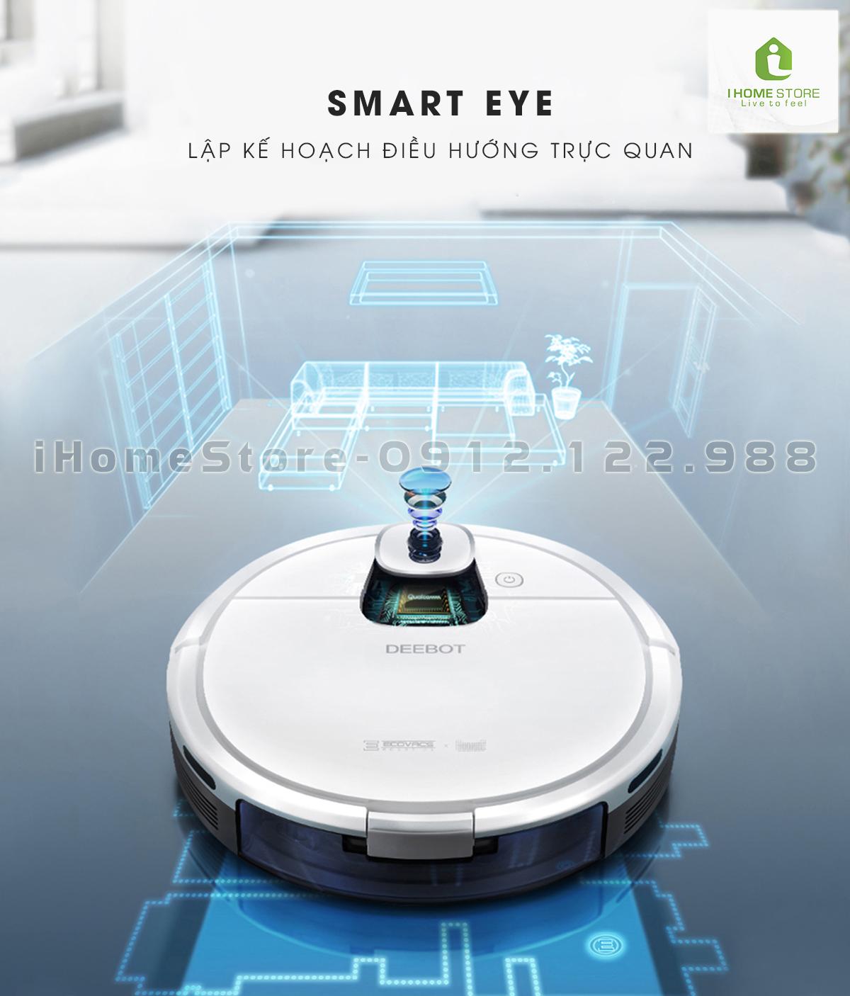 robot hut bui lau nha ecovacs deebot Dj35 - ihomestore.vn