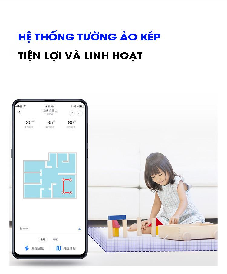 Robot hút bụi Bản quốc tế Xiaomi Roborock T4 (T6SE)