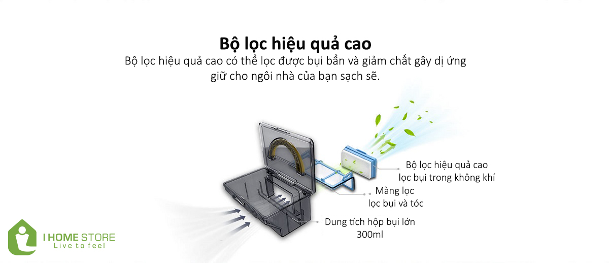 Tính năng thông minh khác của iLife V5Pro