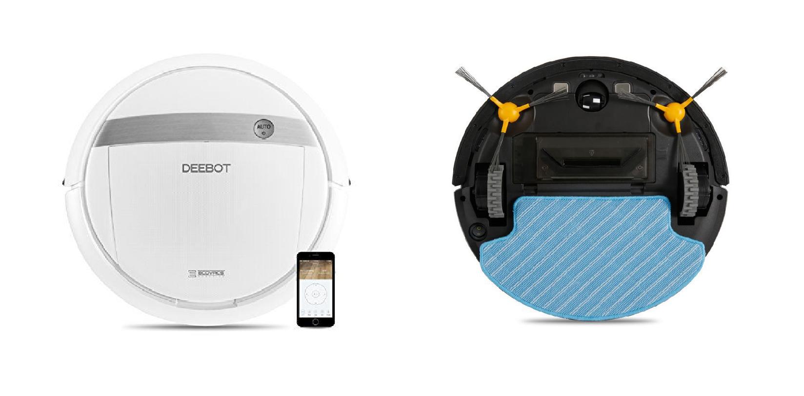 Ecovacs Deebot DG711 - Robot hút bụi lau nhà mang nhiều trải nghiệm th
