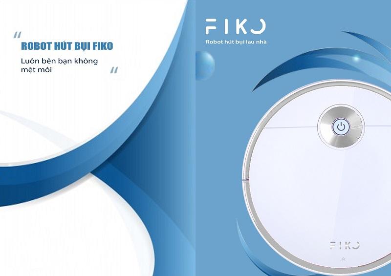 Robot hút bụi lau nhà FIKO