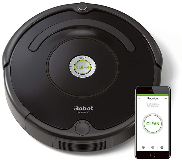 Robot hút bụi lau nhà iRobot Roomba 694