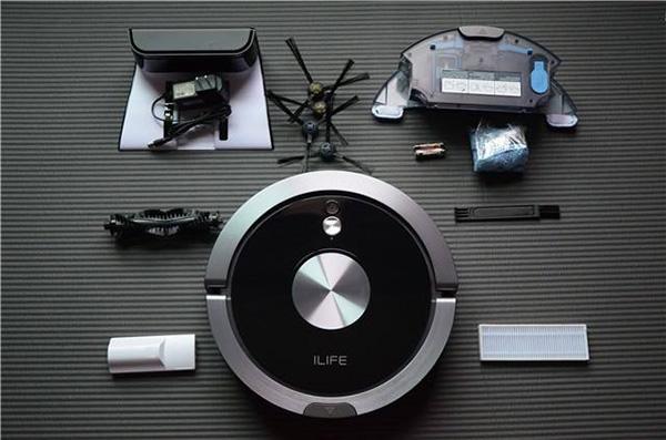 Robot hút bụi lau nhà iLife X800