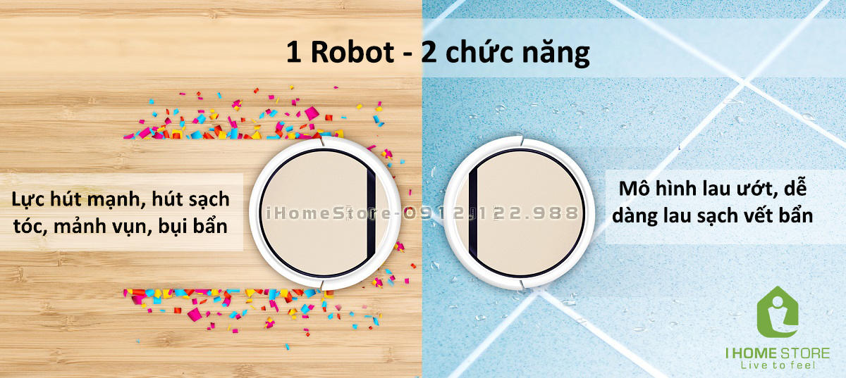 robot hut bui lau nha ilife v5s pro -ihomestore