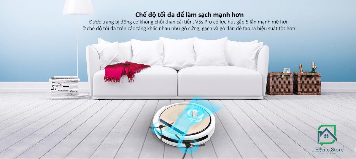 Robot hút bụi lau nhà iLife V5s Pro có nhiều tính năng