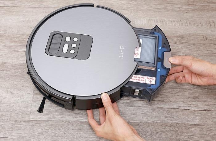 So sánh robot hút bụi lau nhà iLife V80 với iLife A9S