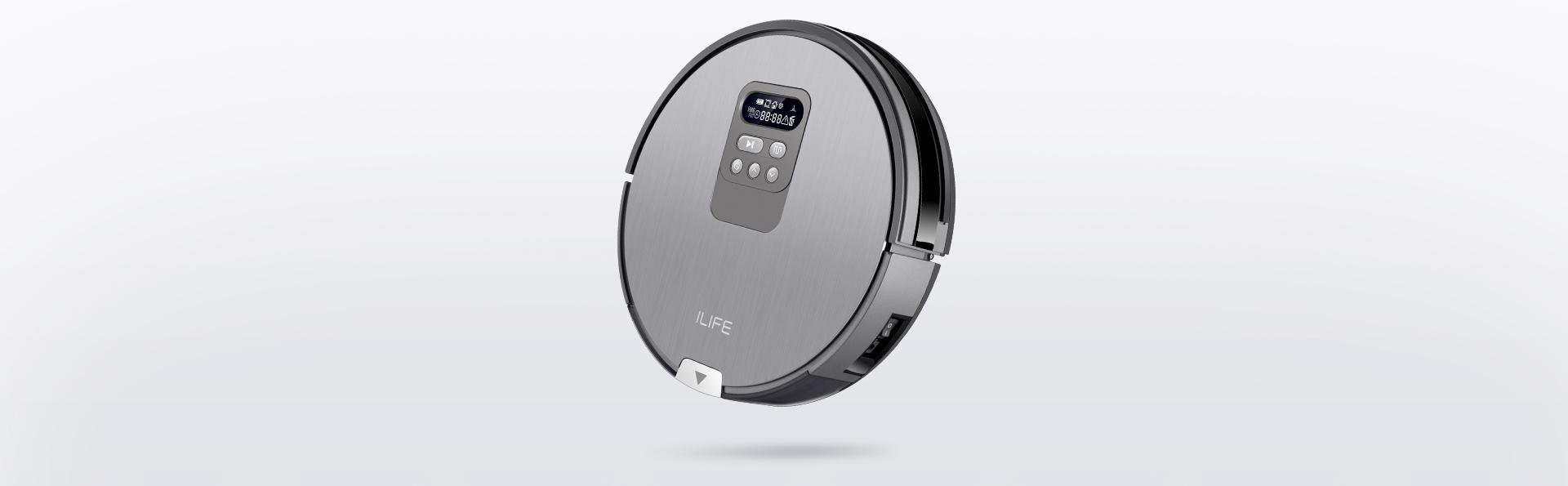 Robot chuyên hút phiên bản xuất châu Âu iLife V80C