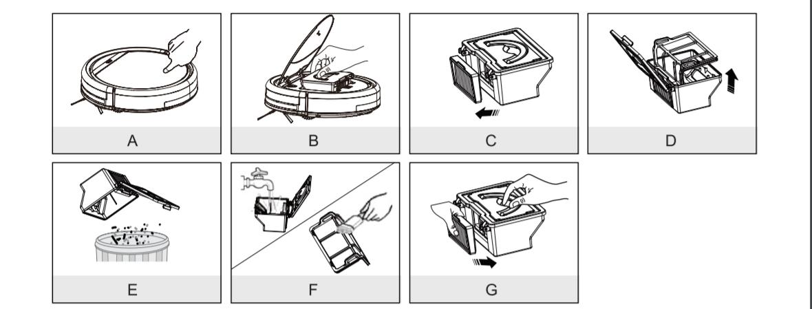 hướng dẫn sử dụng robot hút bụi ilife v5s pro
