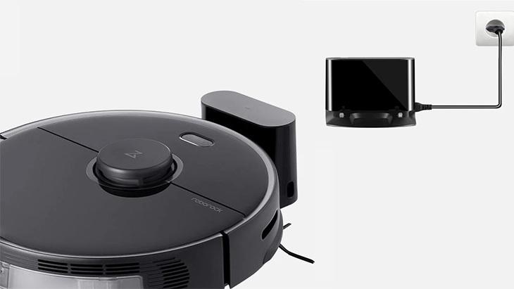 Robot hút bụi lau nhà Bản quốc tế Xiaomi Roborock S5 Max