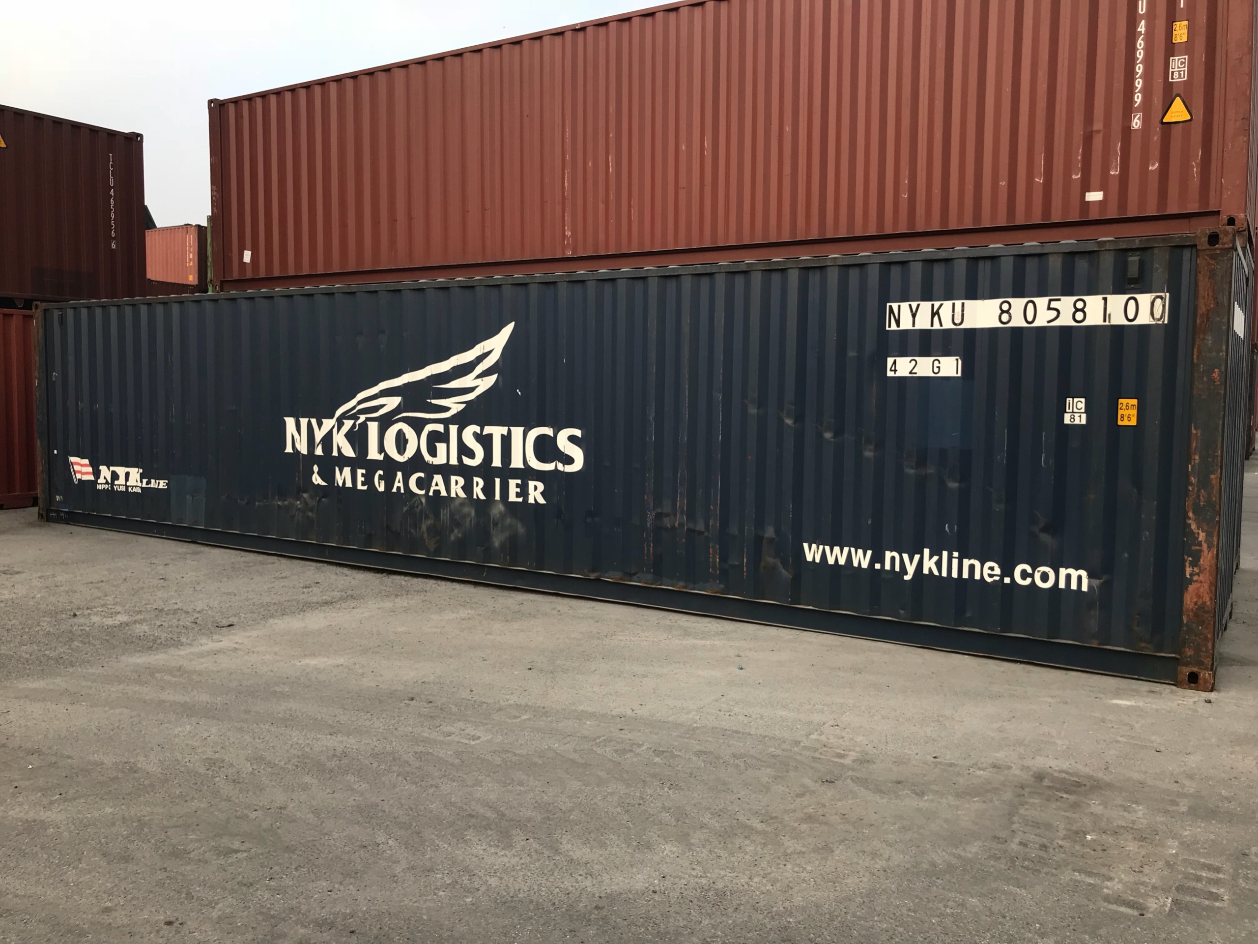 Container 40Feet DC