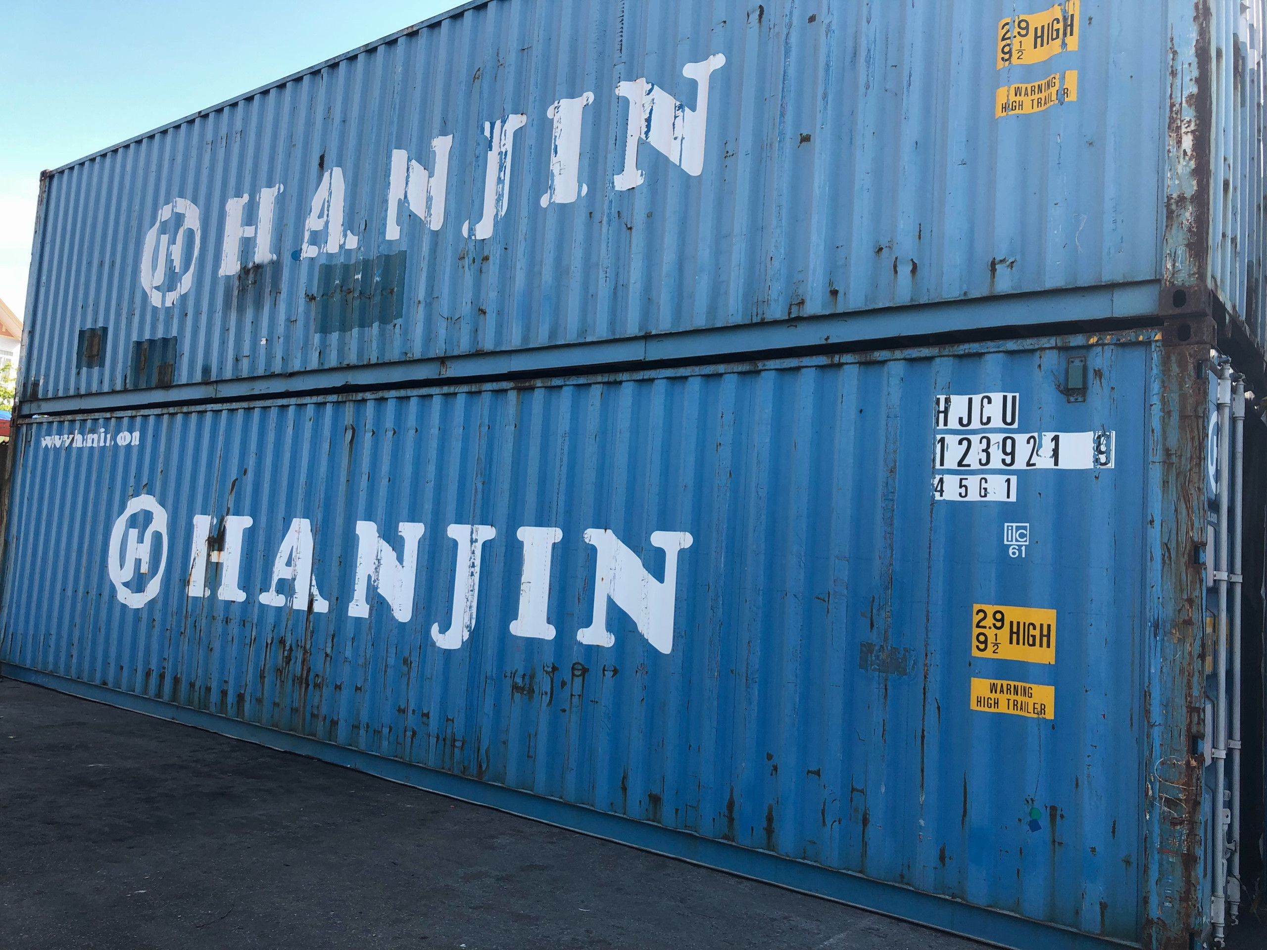 Container 40Feet HC CAIU 8196988