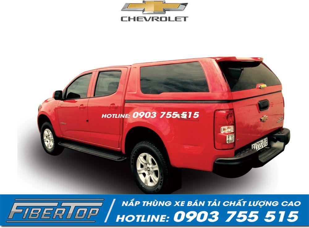 nắp thùng cao xe bán tải Chevrolet Colorado CHCC-3
