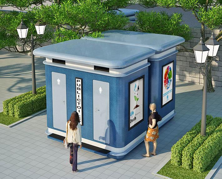 Nhà vệ sinh công cộng TPK B