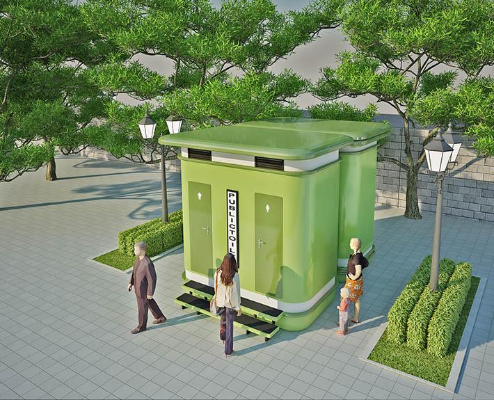 Nhà vệ sinh công cộng TPK A