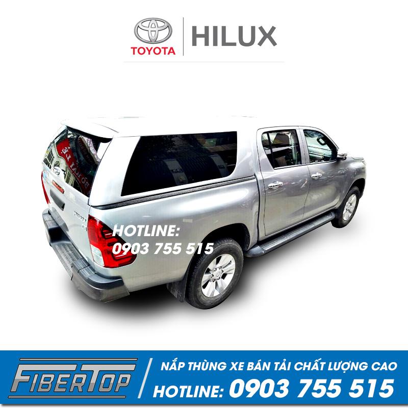 Nắp thùng cao xe bán tải Toyota Hilux Revo THC-3