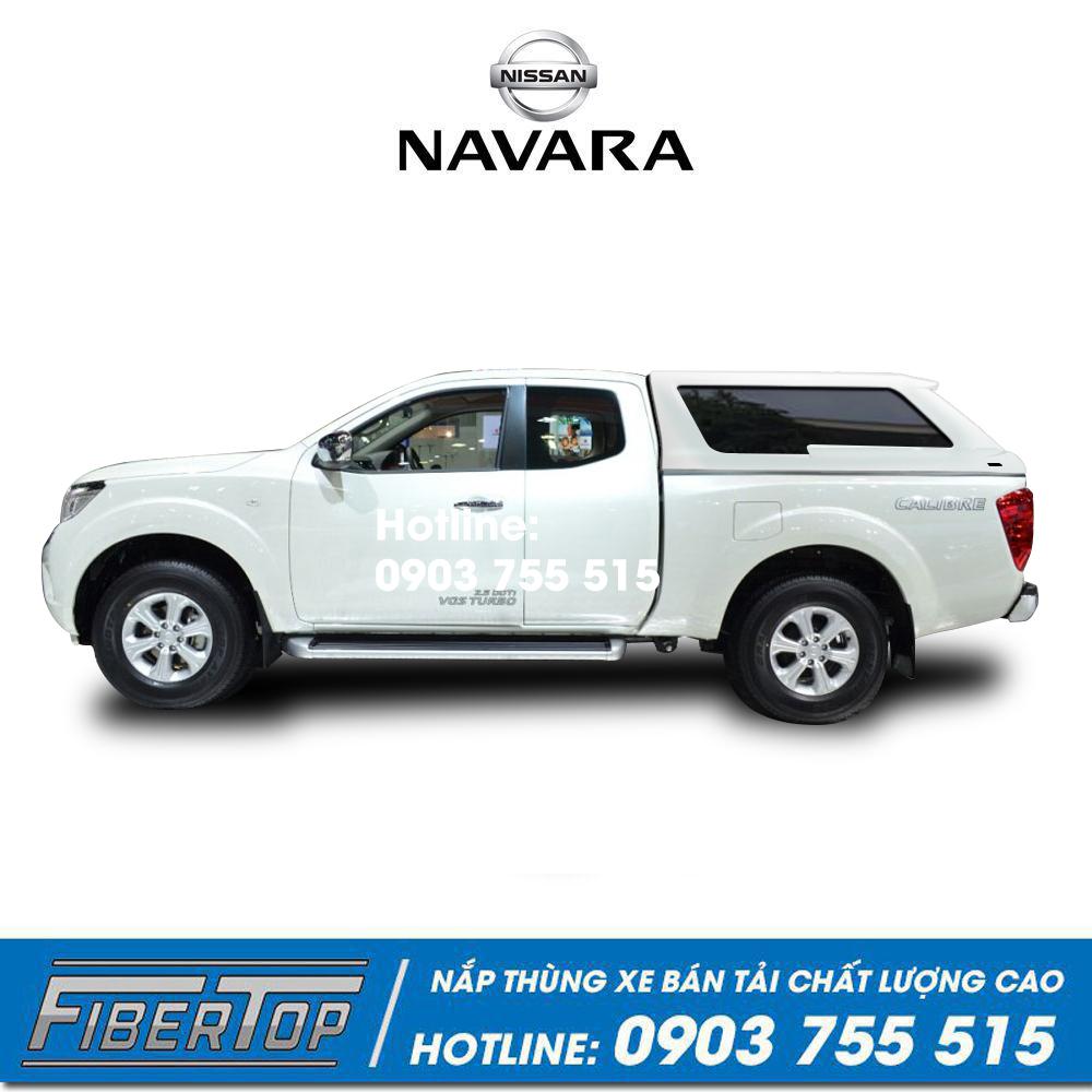 Nắp thùng cao xe bán tải Nissan Navara NNC-9
