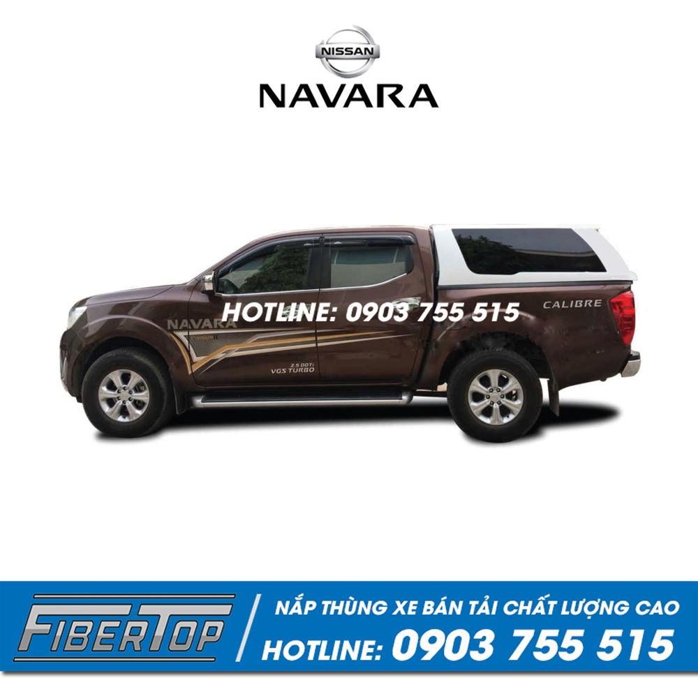 Nắp thùng cao xe bán tải Nissan Navara NNC-10