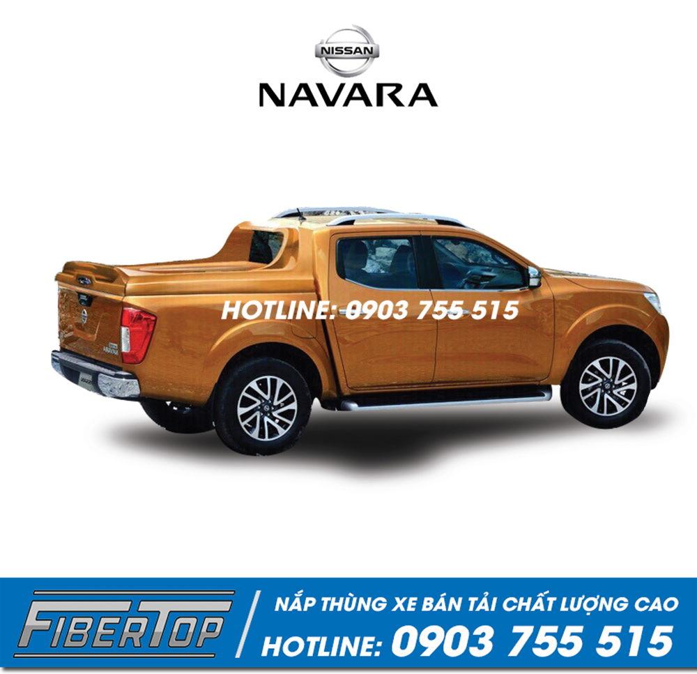 Nắp thùng thấp xe bán tải Nissan Navara NNF-1