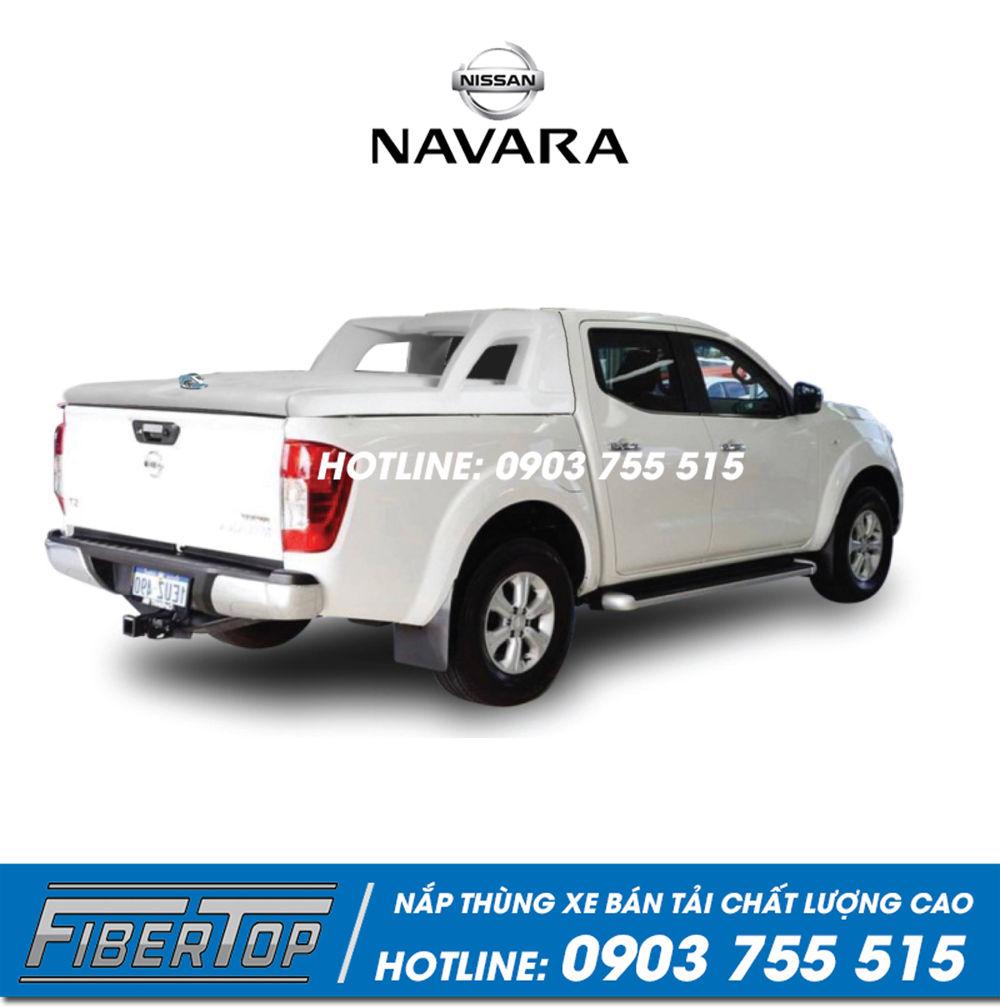 Nắp thấp thùng xe bán tải Nissan Navara / NNS-5