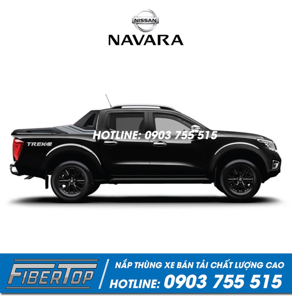 Nắp thấp thùng xe bán tải Nissan Navara / NNS-6