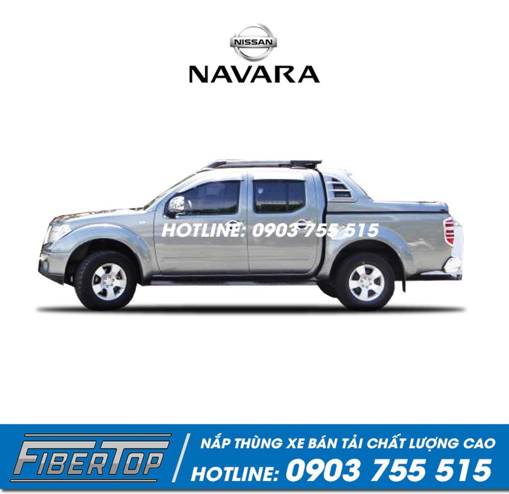 Nắp thùng thấp xe bán tải Nissan NP300 mẫu 1 (NNSO-1)