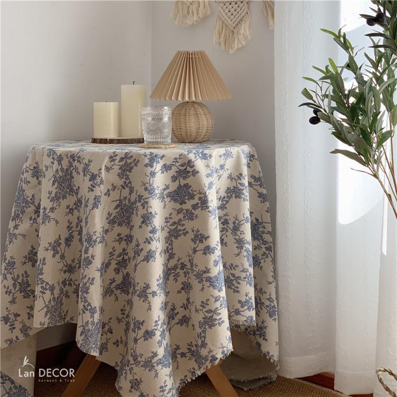 khăn trải bàn tròn hà nội
