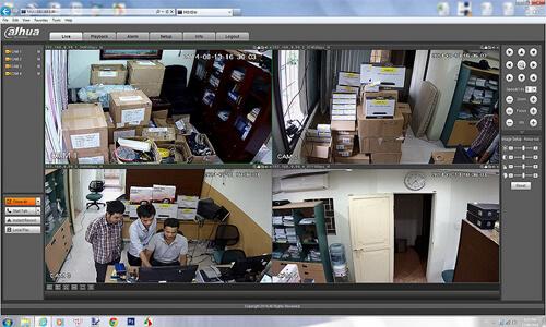 xem camera giám sát qua màn hình máy tính