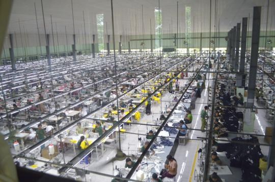 logistics services for the garments industry in vietnam