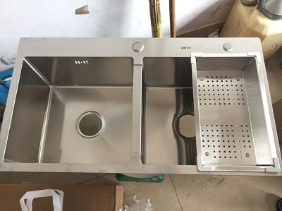 Chậu rửa bát cao cấp AMTS -8245AM ( 82x45cm)