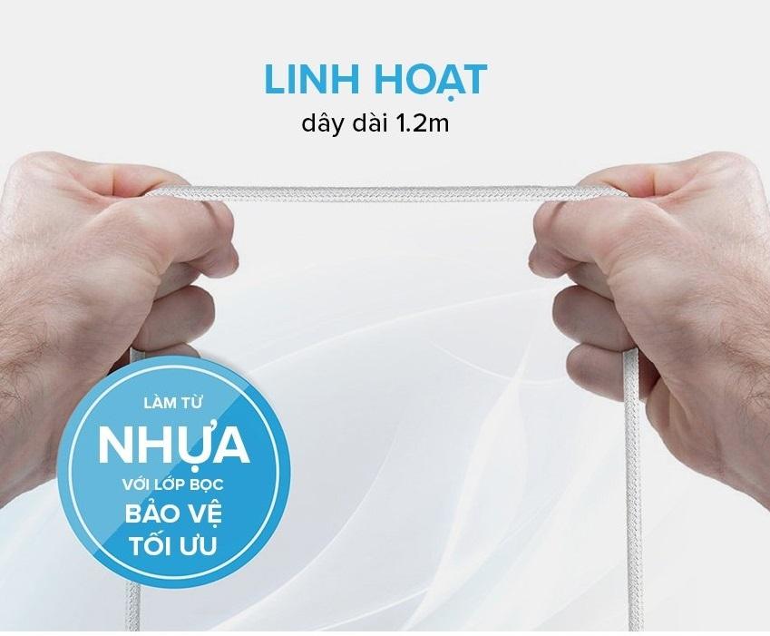 cap sac dien thoai 3 cong promate chinh hang urban city