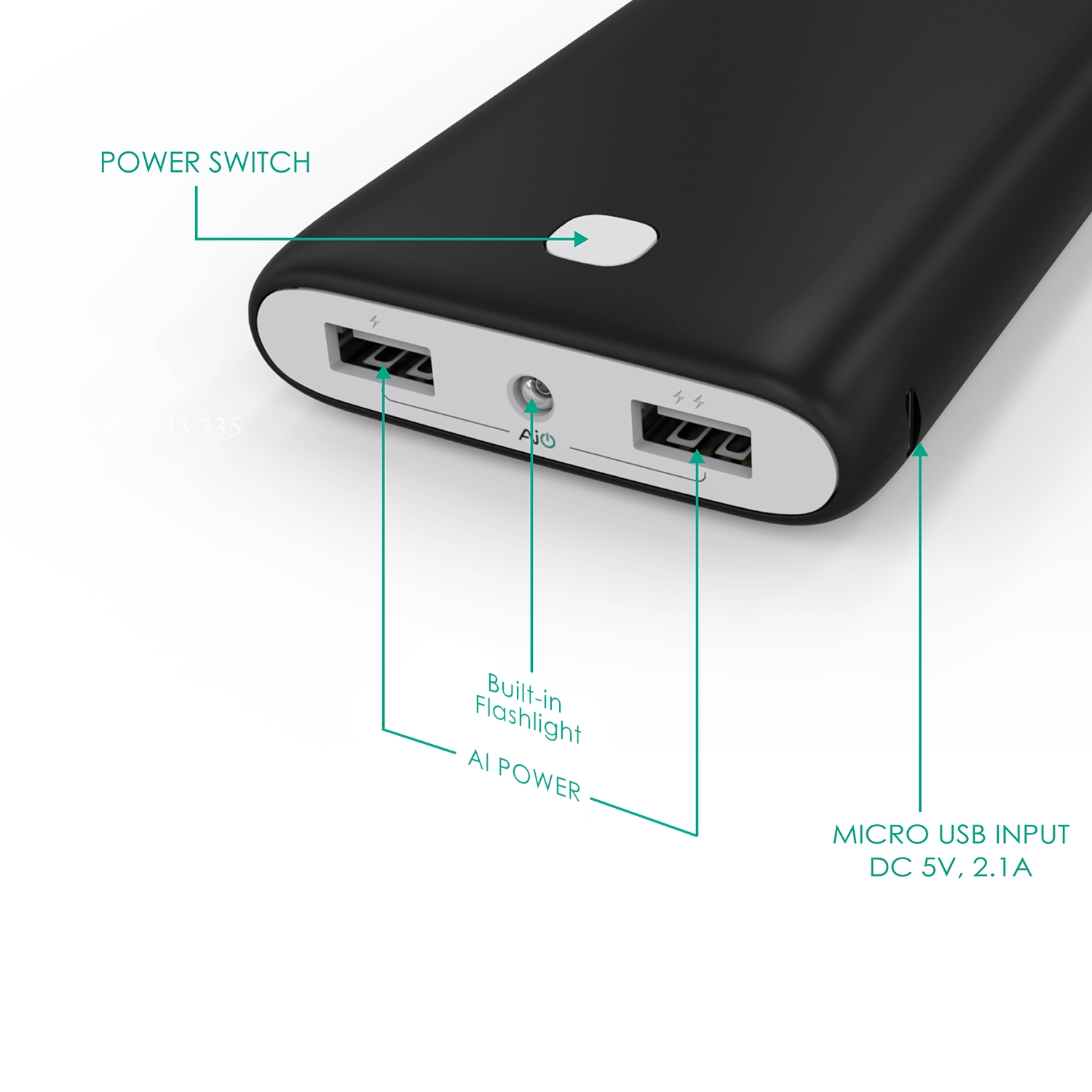 sac du phong aukey pb n15 20000mah chinh hang urban city