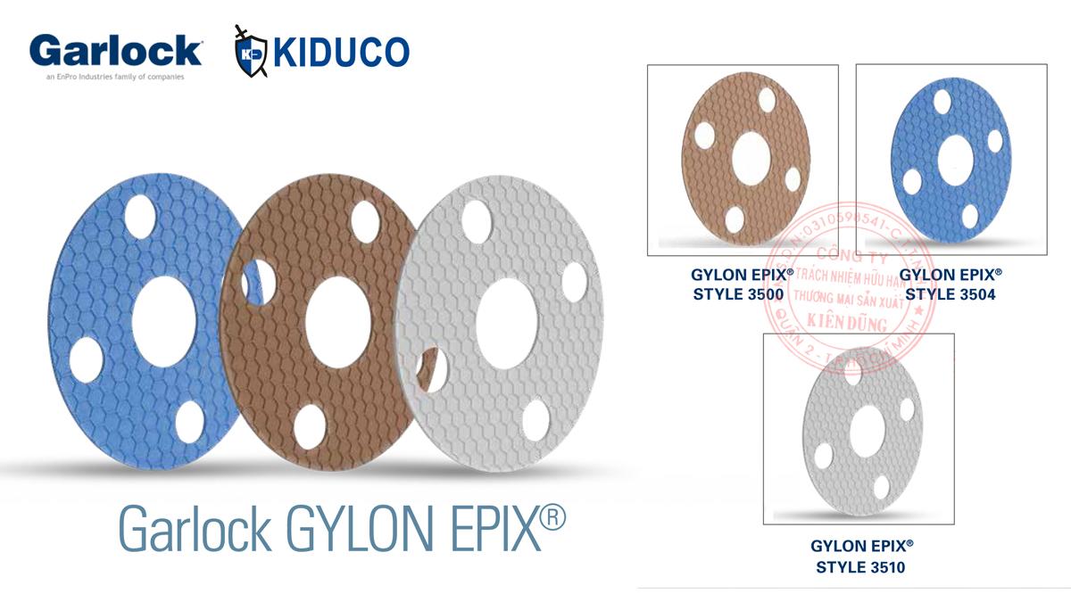 Nhóm sản phẩm gioăng tấm làm kín teflon chất lượng cao Garlock Gylon Epix